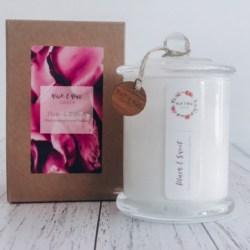 Plain & Sweet Original Candle| Black Raspberry & Vanilla