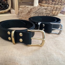 Australian leather traditional belt