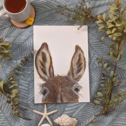 DONNA – Donkey Art Print