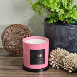 Pink Champagne & Exotic Fruits – Modish Candle (Pink)