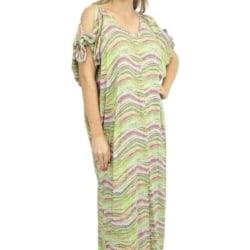 Lime Confetti Resort Dress