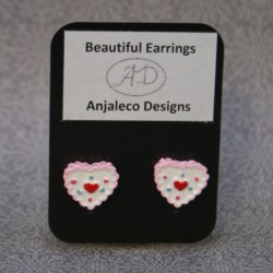 Sweetie – Beautiful Earrings – 13mm x 15mm – Hypo-allergenic Studs