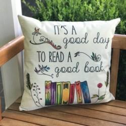 cushion. Good book