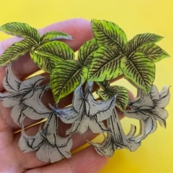 The Angels Trumpet Brooch