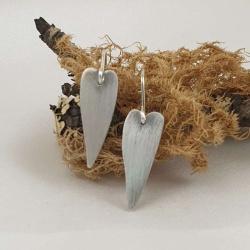 Sterling Silver Hearts Earrings