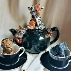 Out of Africa Tea Set