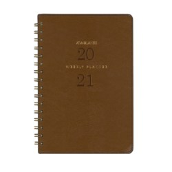 At A Glance A4 Week To Open 2021 Signature Diary Planner – Brown