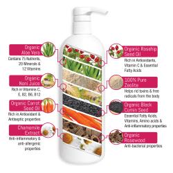 Organic Eczema Soothing Gel 125ml