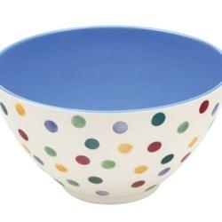 Emma Bridgewater Polka Dot Melamine Salad Bowl