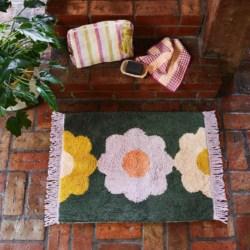 Helene Flower Bath Mat