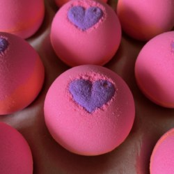 Bath Bomb – Lychee and Peony Fragrance