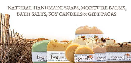 Tangerine Bay Handcrafted Soaps and Soy Candles