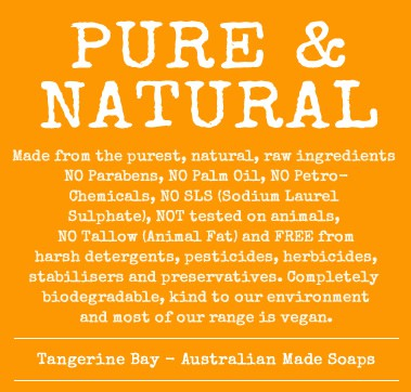 Tangerine Bay Handcrafted Cold Pressed Soap