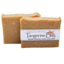 Beer, Honey and Ginger Cold Pressed Soap