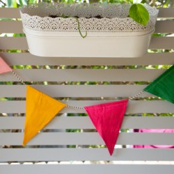 Bright Colours Bunting