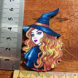 Pretty Witch Brooches / Pins / Embellishments