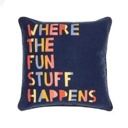 Fun Stuff Reversible Cushion