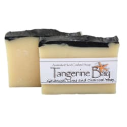 Galangal, Lime and Charcoal Cold Pressed Soap