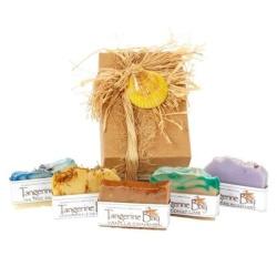 Tangerine Bay Cold Pressed Soap Gift Box