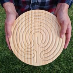 Mindfulness Tool – Cretan Finger Labyrinth