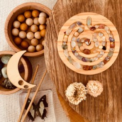 Mindfulness Tool for Children – Mini Celtic Shaped Finger Labyrinth