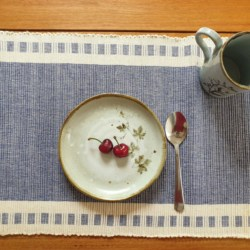 Hand Woven Cotton Placemats Set of 2