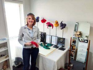 Julie Herbert Milliner from Orange NSW – Handmade Millinery Pieces by Julie