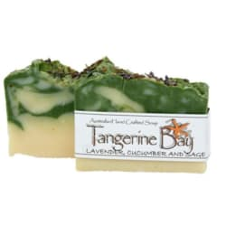 Lavender, Cucumber and Sage Cold Pressed Soap