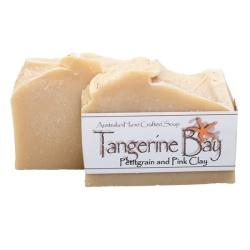 Pettigrain and Pink Clay Cold Pressed Soap
