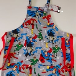 BOYS SUPER HEROS APRON