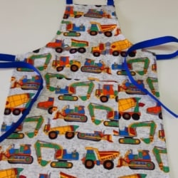 BOYS TRUCKS APRON