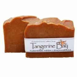 Tumeric, Neem and Lemongrass Cold Pressed Soap
