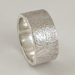 Sterling Silver Reticulated Ring