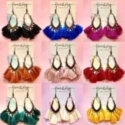 Bohemian Styled Earrings