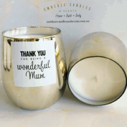 Mother's Day gold jar