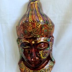 Small Buddha Head Wall Hanging (BH0001)