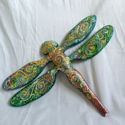 Dragonfly Wall Hanging (Dr0002)