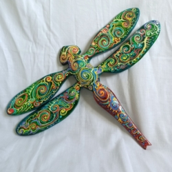 Dragonfly Wall Hanging (Dr0003)