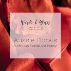 Aussie Florals Original Candle | Australian Florals and Honey