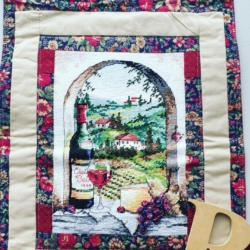 Hand Stitched and Patchwork Table Runner