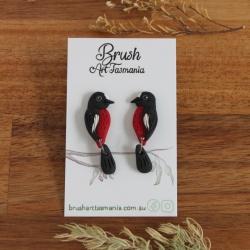 Scarlet Robin Earrings