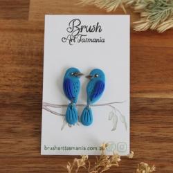 Bluebird Earrings