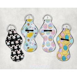 Easter Lip balm Holder, Chapstick Holder, Keyring, Keychain