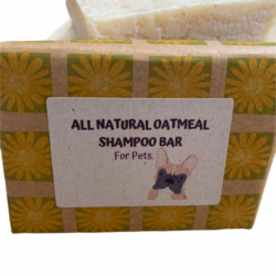 All Natural Oatmeal Shampoo Bar for Dogs