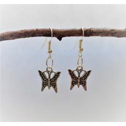 Ornate Butterflies Dangle Earrings