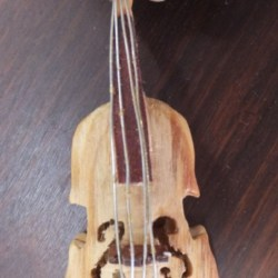 Hand Carved Cello