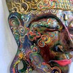 Large Buddha Head Wall Hanging (TBH002)