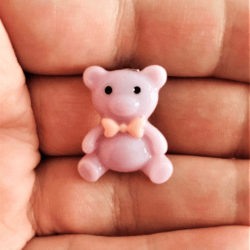 Cute Tiny Teddy Brooches – 3 Colours – set 2