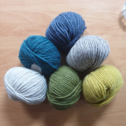"""Tivoli"" – Chunky Beanie with Faux Fur Pom Pom in choice of colours – Alpaca/Wool/Acrylic blend"