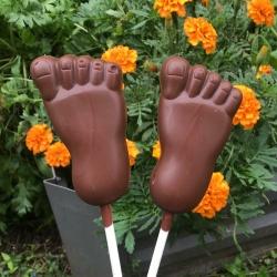 Feet Choc Pops